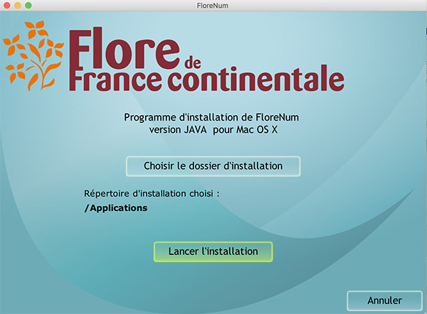 Installation Florenum Mac